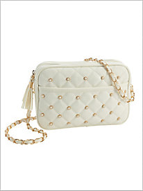 Classic Quilted 'N Pearls...