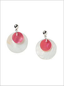 Rio Shell Disc Earrings