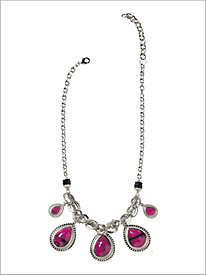 Partial To Pink Necklace