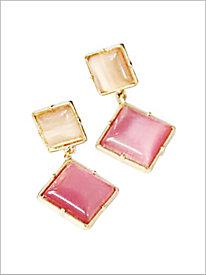Geo Notes Earrings @...