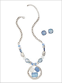 Blue Notes Pendant Jewelry