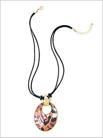 Safari Chic Necklace...