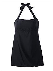 Solid Swim Dress
