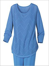 Chevron Stitch Sweater