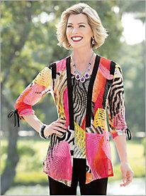 Paradise Lace Knit Jacket...