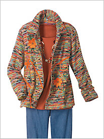 Potpourri Textured Jacket...