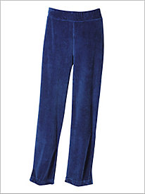 Stretch Knit Cord Pull-on Pants