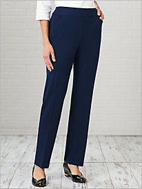 Bi-Stretch Pull-On Pants