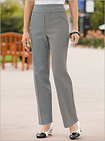 Check Allure Pants by Alfred Dunner