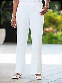 Look-Of-Linen Trouser