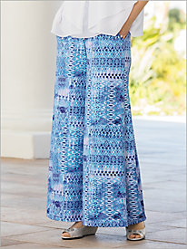 Under The Sea Palazzo Pants