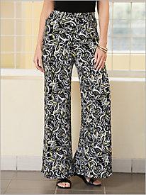 Hanalei Bay Printed Knit Palazzo Pants
