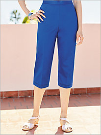 Corsica Pull-On Capris by Alfred Dunner