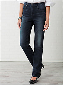 Dream Straight Leg Jeans by Miracle Jean
