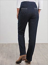 New Diamond Denim Pants by Slimtacular®