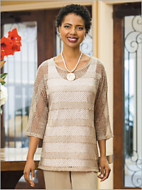 Sequin Sophisticate Tunic by Brownstone Studio®