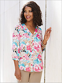 Blooming Blossoms Big Shirt