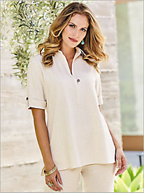 Look-Of-Linen Tunic