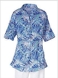 Pacifica Crinkle Burnout Shirt