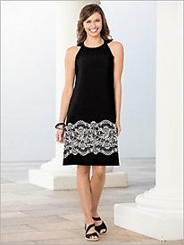 Lace Border Dress