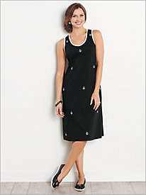 Anchor Knit Tank Dress