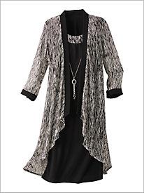 Forever Foil Jacket Dress