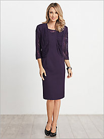 Lovely Lace Jacket Dress...