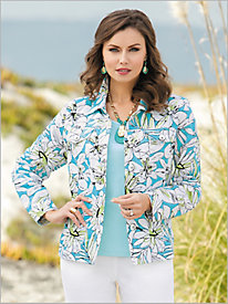 Palm Beach Floral Jacket