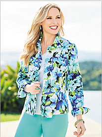 Blue Hawaiian Jacket
