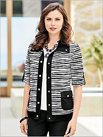 Wave Stripe Jacket