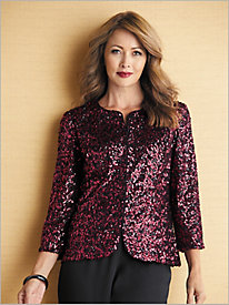 Simply Sequins Jacket by Alex Evenings