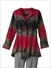 Garnet Hill Embroidered Jacket