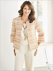 Be Our Guest Jacket & Look-Of-Linen Separates