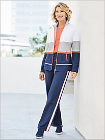Starboard Colorblock Jacket Separates by D&D Lifestyle?