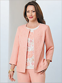 La Dolce Vita Soutache Jacket by Alfred Dunner