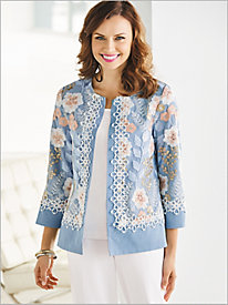 Festival Of Flowers Jacket