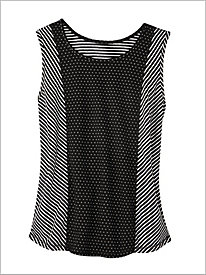 Pattern Play Reversible Tank by D&D Lifestyle?
