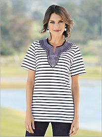 Mykonos Stripe Tunic