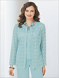 Medallion Lace Shirt