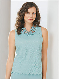 Medallion Lace Tank