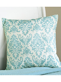 "Damask 18"" Square Decorative Pillows (set of 2)"