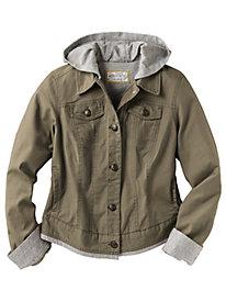 Women's Happy Medium Hooded Jacket