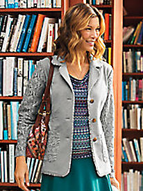 Women's Lace Knit Knack Blazer