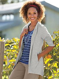 Women's Peach Fleece Athliving Jacket