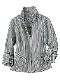 Women's Railroad Stripe Jacket