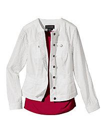 Women's Eyelet Jacket