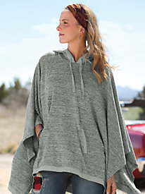 Women's Heather Haven Knit Poncho