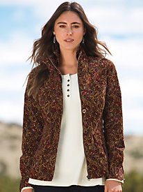 Women's Praise the Cord Print Jacket