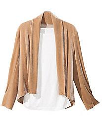 Women's Diamond-Back Velvet Jacket