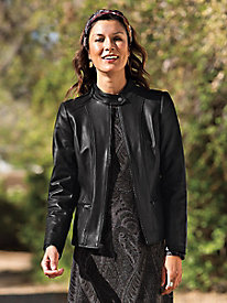 Fit Secret Leather Jacket